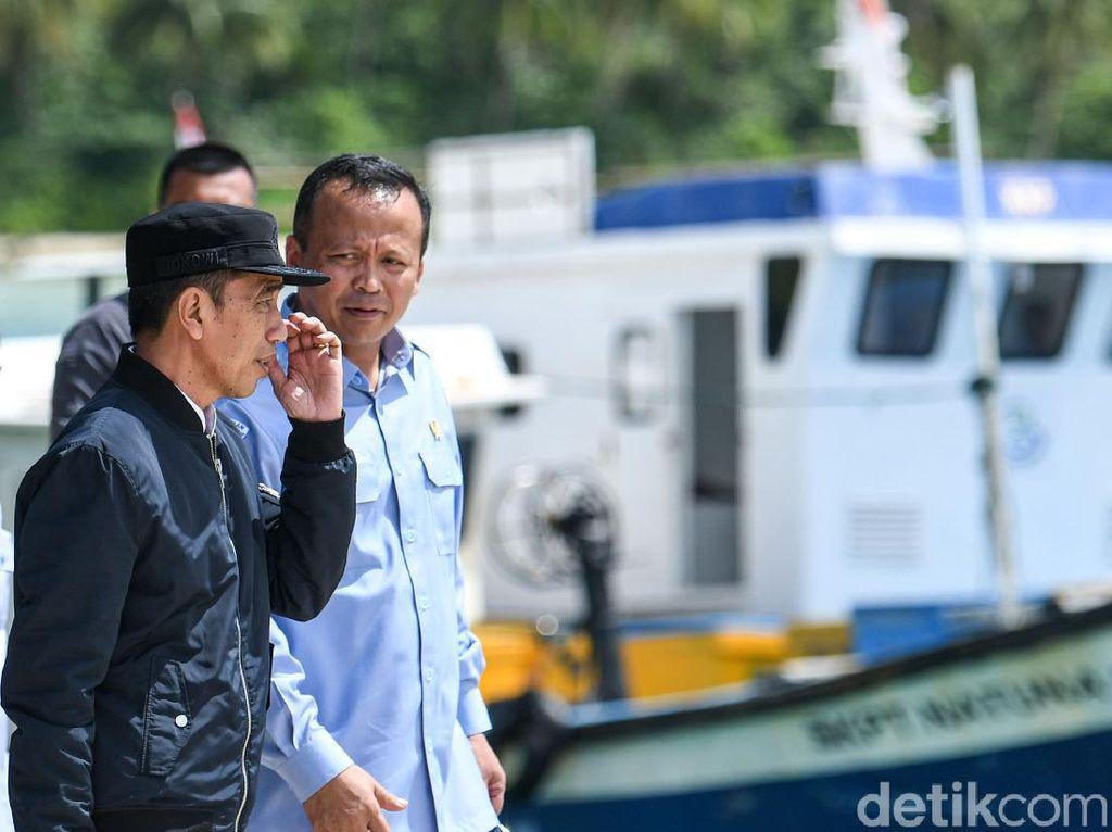 Jokowi soal Edhy Prabowo: Kita Hormati Proses Hukum di KPK