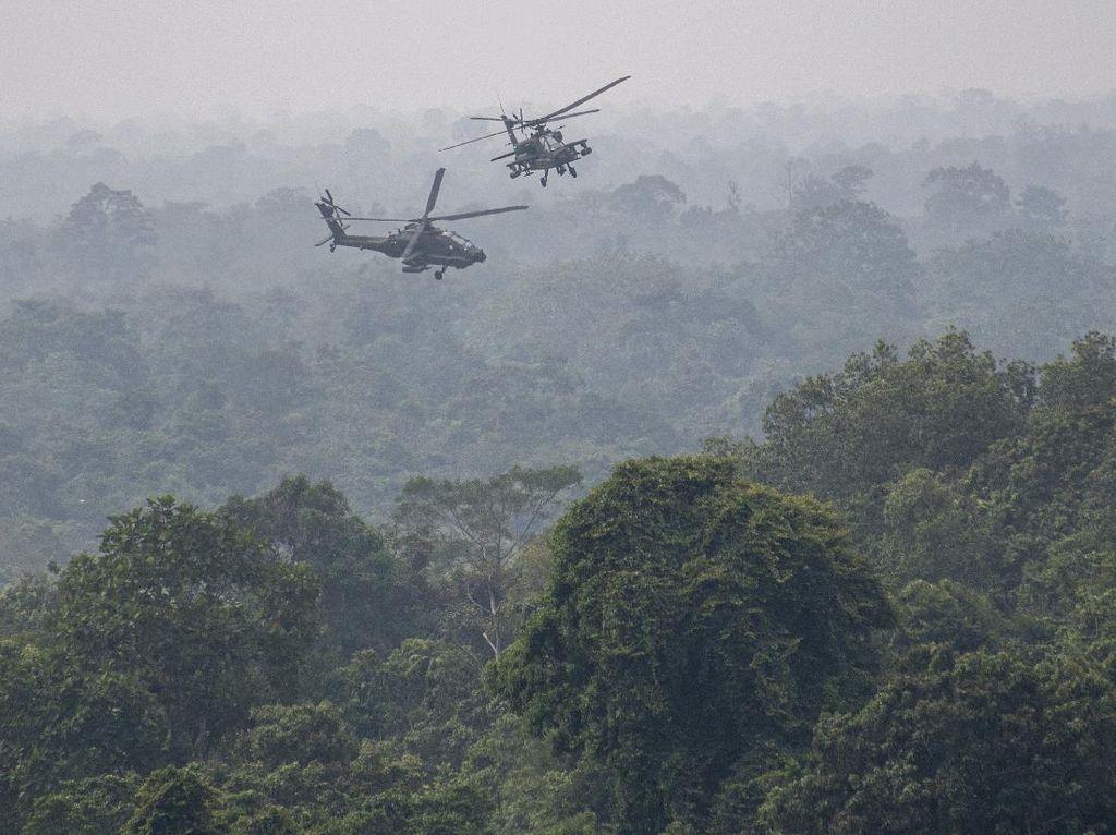Melihat Pasukan TNI AD Kala Berlaga di Medan Perang