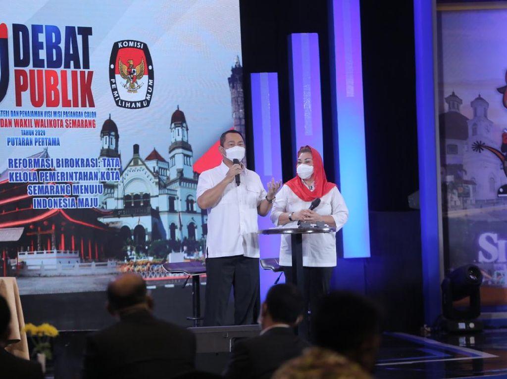 Debat Publik Pilwalkot Semarang, Hendi: Sekarang Semarang Semakin Hebat