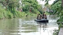 Pemuda di Sidoarjo Hilang Tenggelam Saat Ambil Sandal yang Hanyut