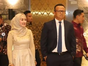 Iis Rosita Dampingi Edhy Prabowo, Siapa Danai Perjalanan ke AS?