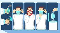 5 Cara Gunakan Masker Sekali Pakai yang Direkomendasikan