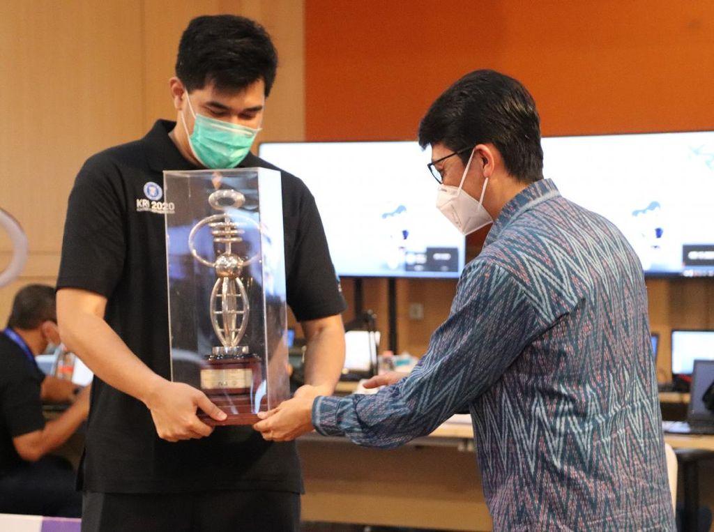 ITS Sabet Juara Kontes Robot Indonesia 2020