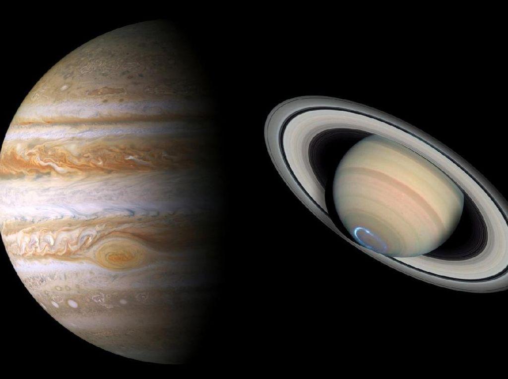 Siap-siap, Planet Jupiter dan Saturnus Akan Bersatu
