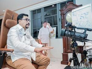 Cawali Machfud Arifin Bicara Visi Surabaya Penopang Ibu Kota Baru