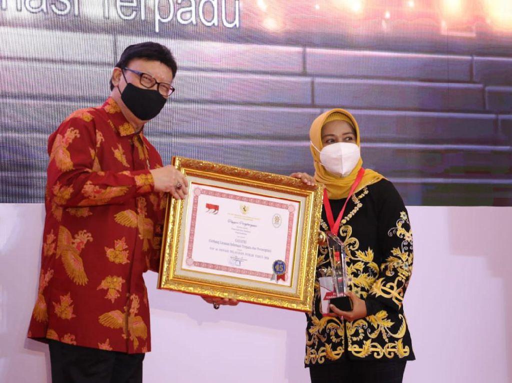 Aplikasi Gayatri Pemkot Mojokerto Sabet Penghargaan dari KemenPAN-RB