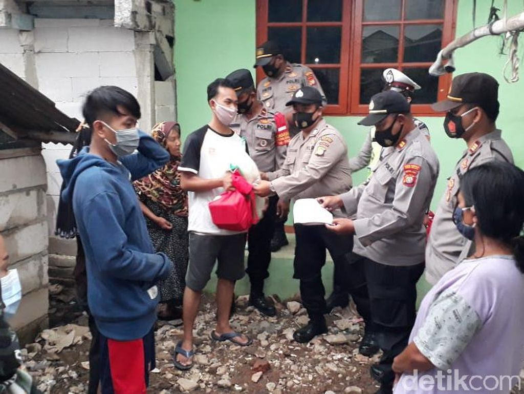 Viral Dugaan Pungli Bansos COVID di Muara Angke, Polisi Terjun Kawal Distribusi