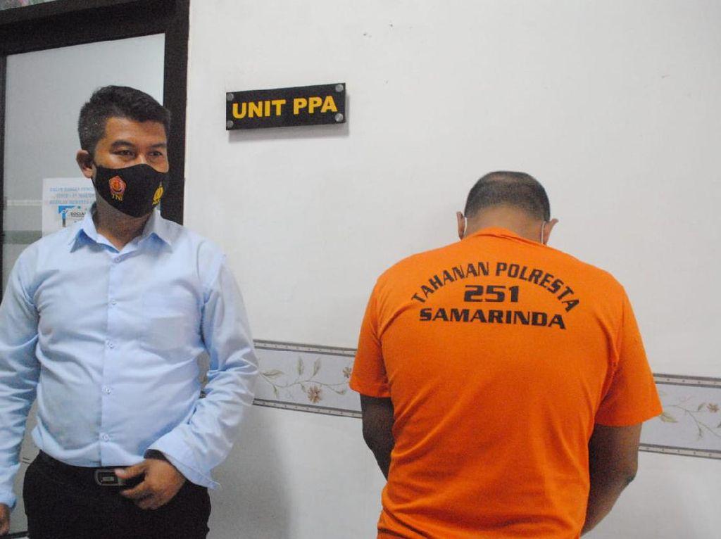 Perkosa Anak Kandung Sampai Hamil 8 Bulan, Ayah di Samarinda Ditangkap