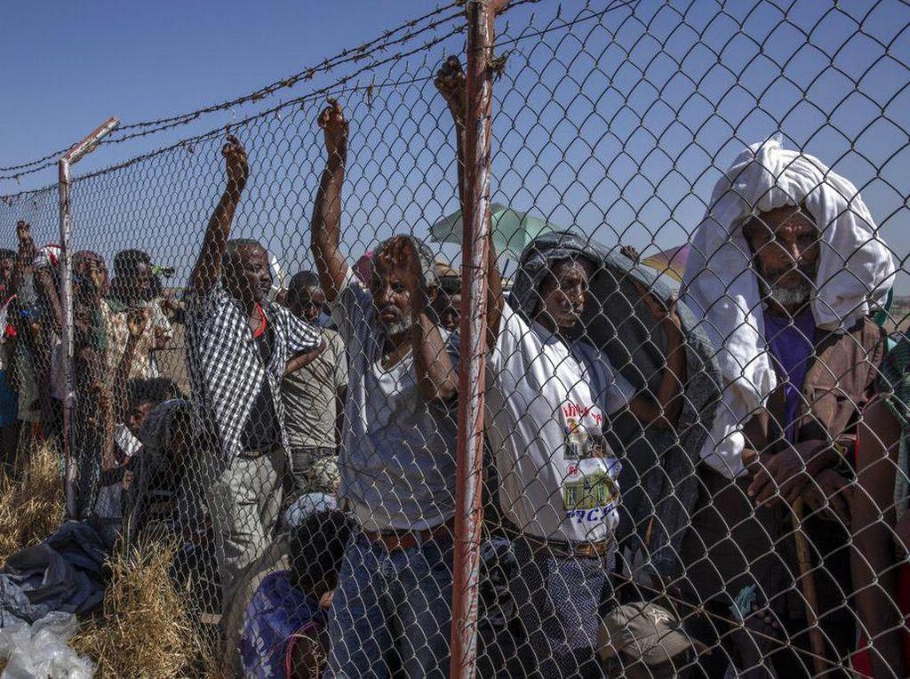 Potret Pengungsi Ethiopia Akibat Perang di Tigray