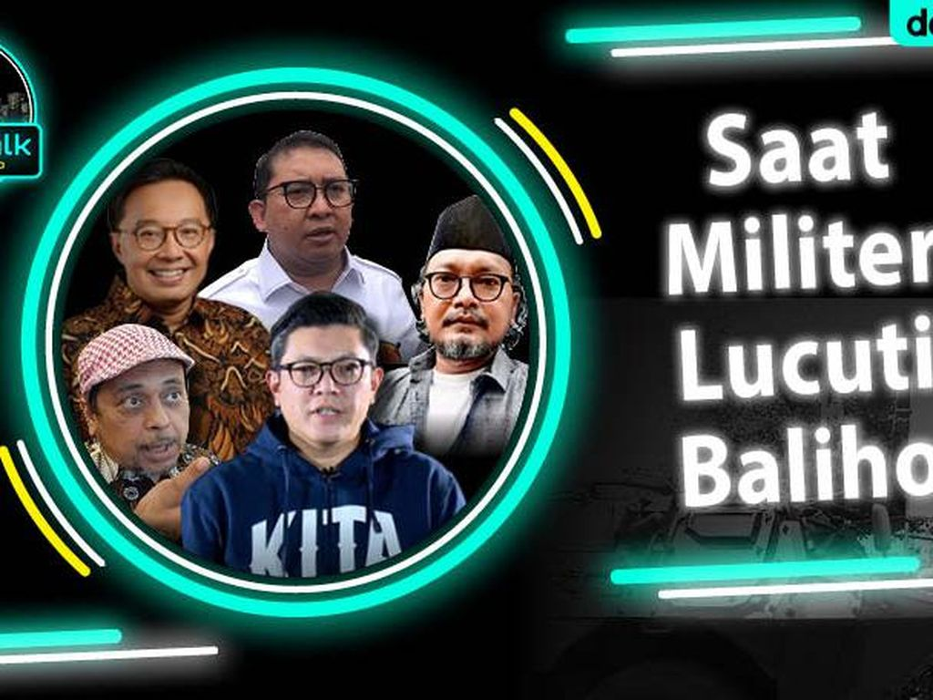 dRooftalk Saat Militer Lucuti Baliho