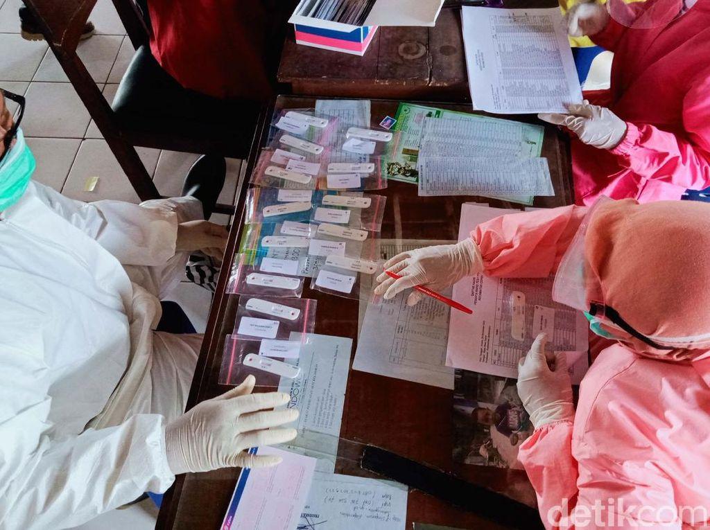 2250 Pengawas TPS di Pilkada Klaten Ikuti Rapid Test