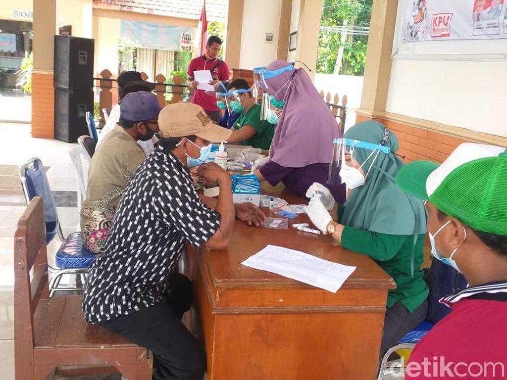 Lebih 27 Ribu Petugas KPPS Lamongan Mulai Jalani Rapid Test Bertahap