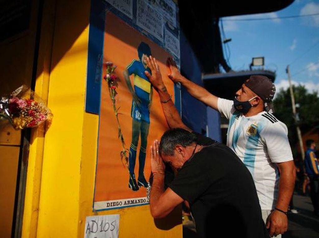 Maradona Meninggal Dunia, Argentina Tetapkan Tiga Hari Berkabung Nasional