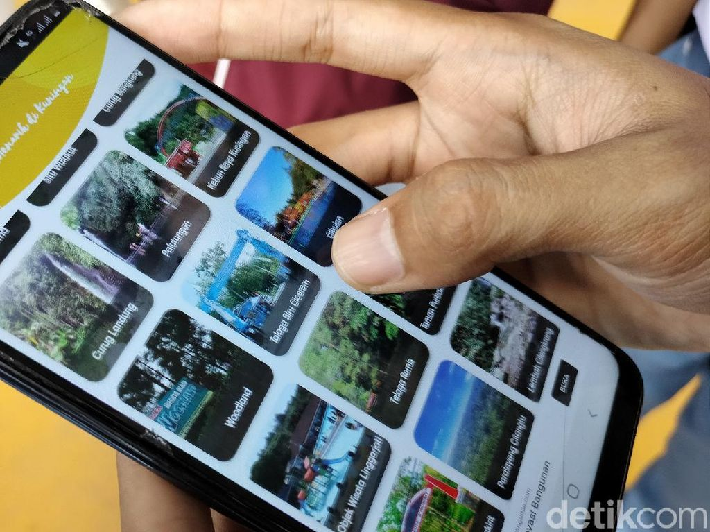 Aplikasi Wisata-Kuliner Kuningan Buatan Siswa SMK