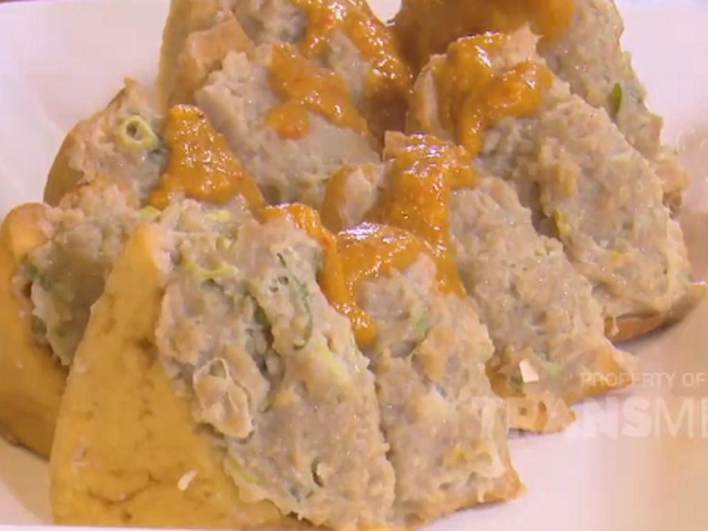 Masak Masak : Bakso Tahu Saus Kacang yang Gurih Pedas