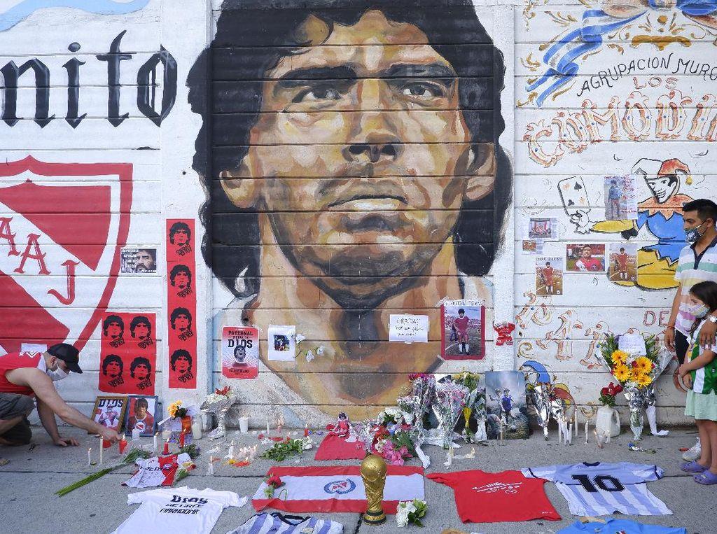 Jenazah Maradona Disemayamkan di Istana Presiden