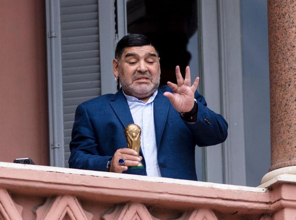 RIP Legenda, Maradona Disemayamkan di Istana Presiden Argentina