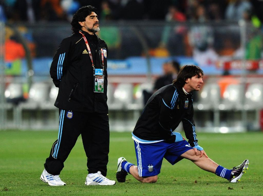 Maradona Jauh Lebih Dikagumi ketimbang Ronaldo-Messi