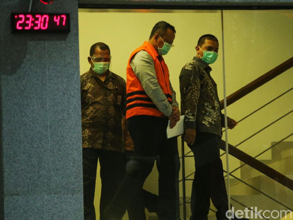 Duduk Perkara Suap ke Menteri Edhy Prabowo