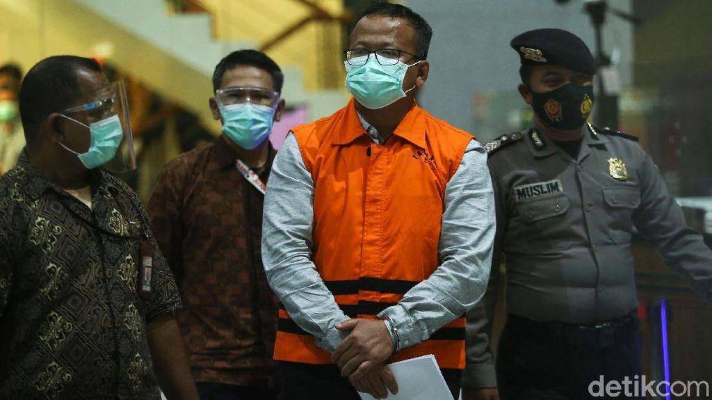 Edhy Prabowo Berompi Tahanan KPK
