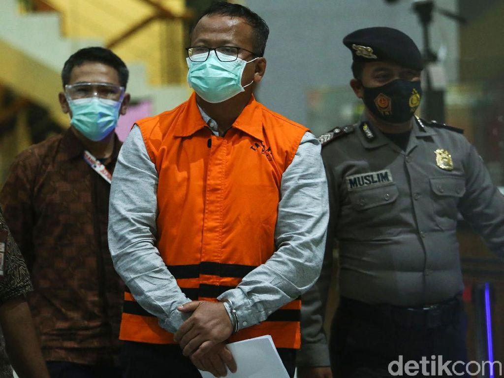 KPK Tahan Menteri KKP Edhy Prabowo Tersangka Suap Ekspor Benih Lobster