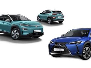 Duel Crossover SUV Listrik: Hyundai Kona Electric Vs Lexus UX 300e, Pilih Mana?
