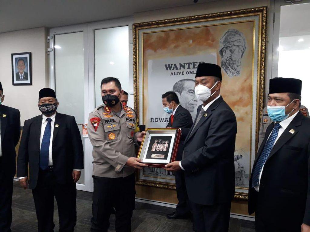 Kapolda Metro Temui Pimpinan DPRD DKI, Bahas Keamanan-Penanganan COVID