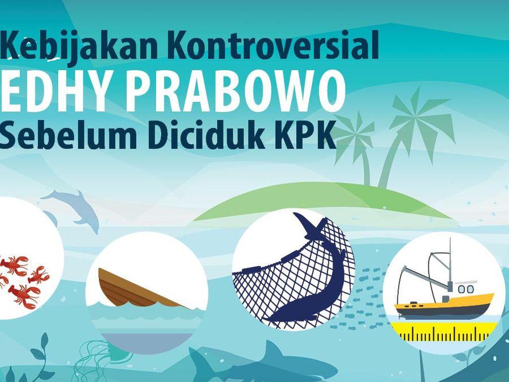 4 Kebijakan Kontroversial Edhy Prabowo Sebelum Diciduk KPK