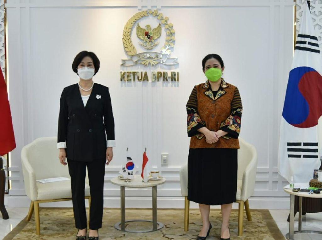 Ketua DPR Puan Maharani Dorong Peningkatan Kerja Sama RI-Korea