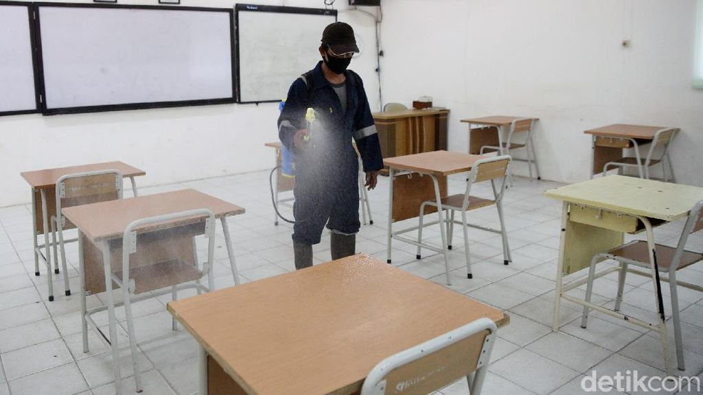 Melihat Persiapan SMK Negeri 26 Jelang Rencana Sekolah Tatap Muka