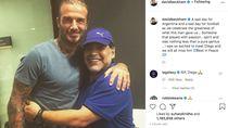Maradona Meninggal, Para Bintang Bersedih di Media Sosial