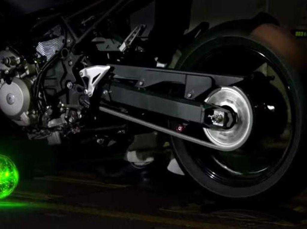 Motor Hybrid Kawasaki Akhirnya Dipamerkan, Begini Suaranya