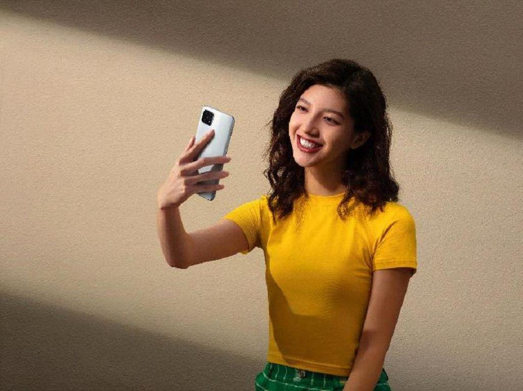 OPPO A15 Tawarkan Layar Lega dan Kamera Kaya Fitur