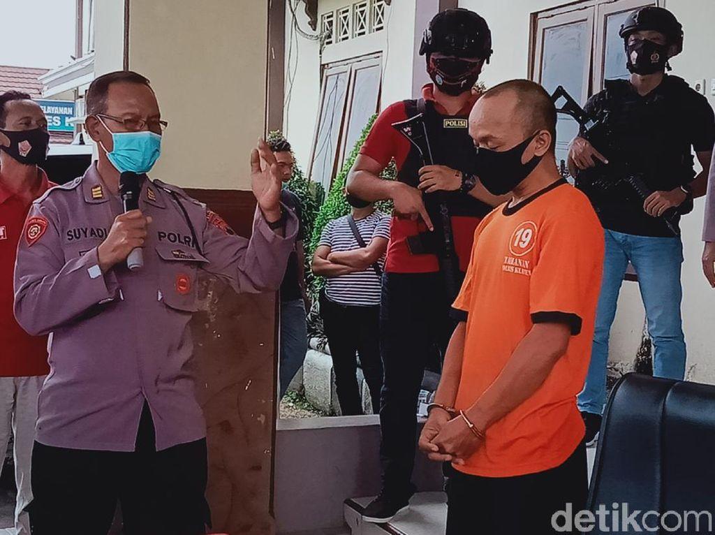 Jambret Spesialis Emak-emak dan Bocah di Klaten Ditangkap