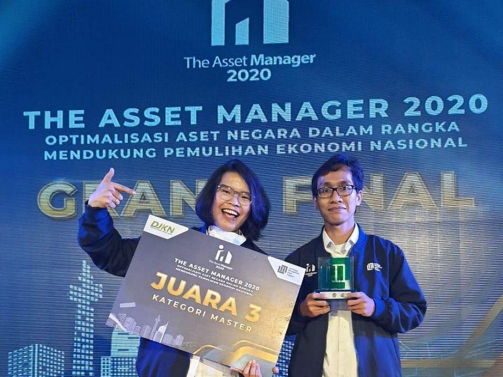 PGN Sabet Juara 3 KompetisiThe Asset Manager 2020
