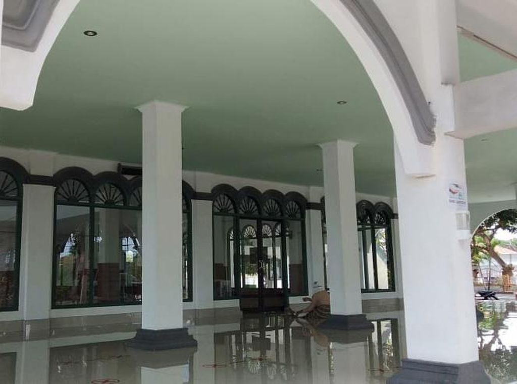 Inilah Masjid Terbaik & Terbersih dalam Lomba Kampung Sehat Polda NTB