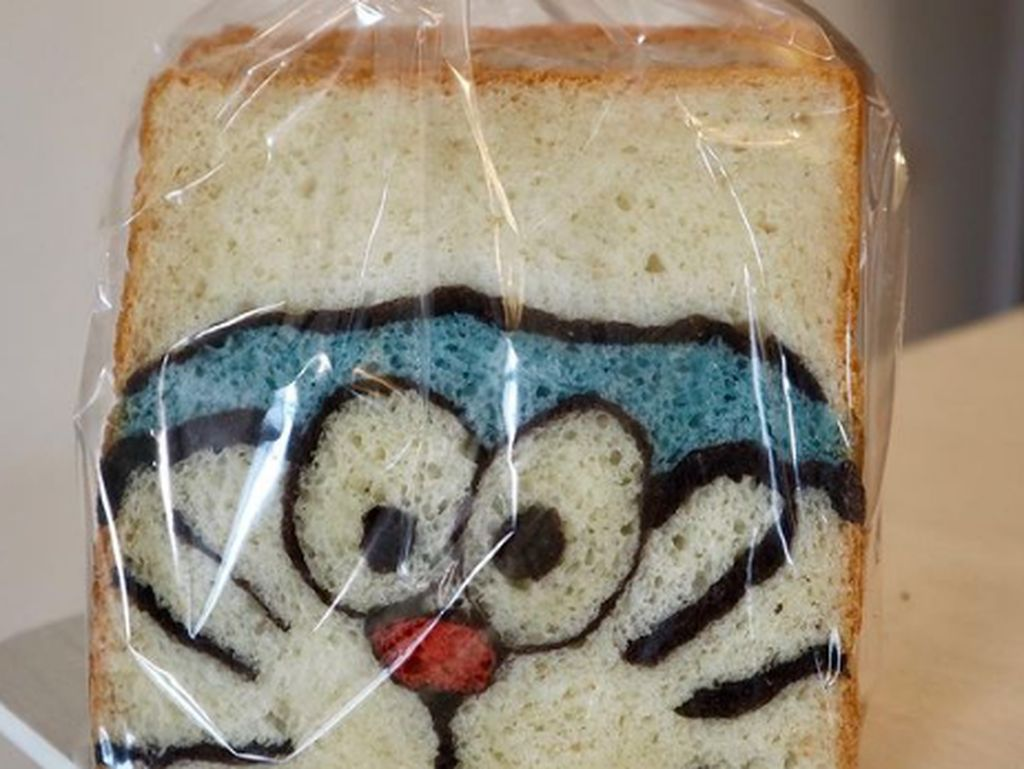 Gemas! Baker Jepang Ini Bikin Roti Doraemon hingga Pokemon