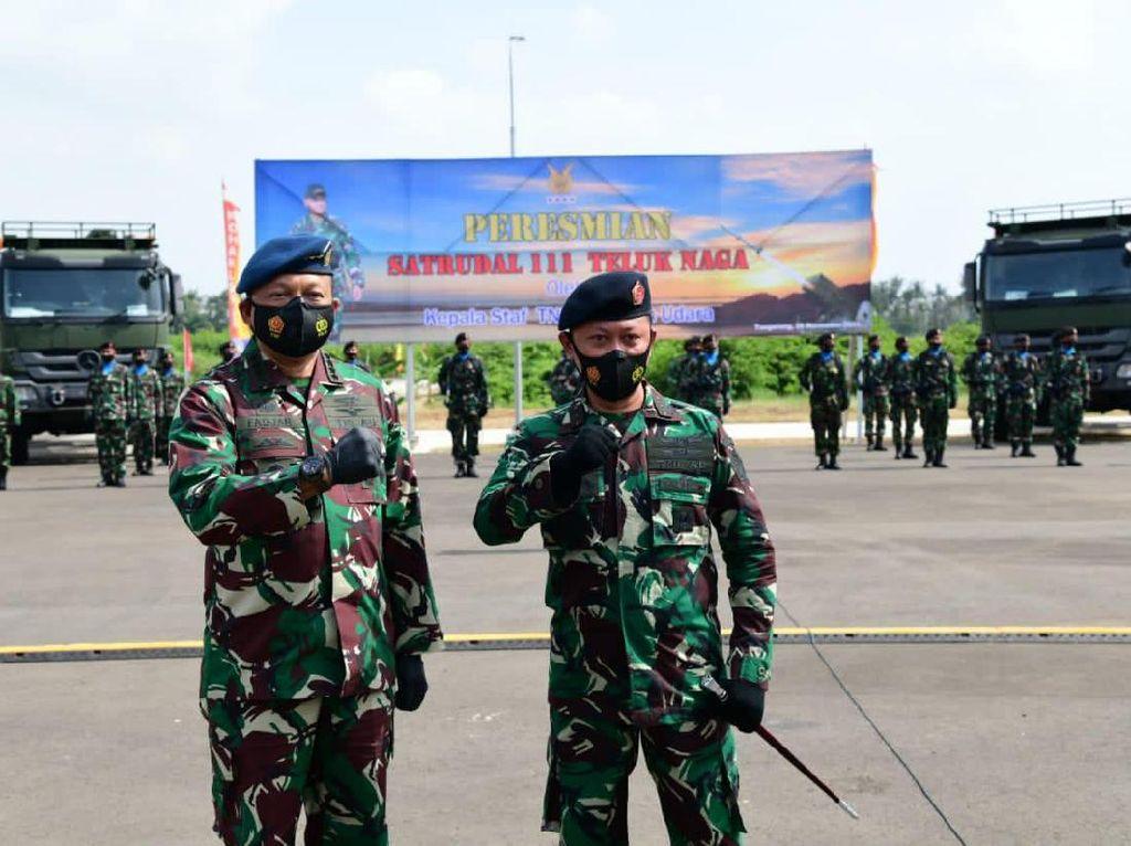 Resmikan Satuan Peluru Kendali, KSAU: TNI AU Harus Tingkatkan Kewaspadaan