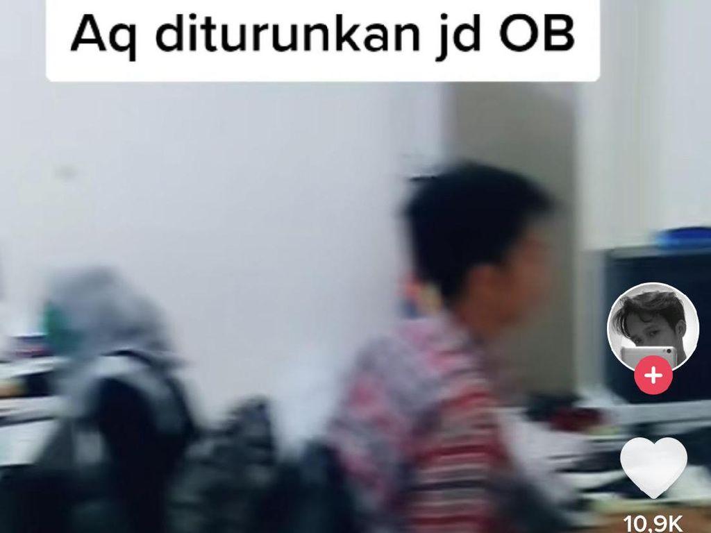 Viral Kisah Karyawan Desain Grafis Turun Jabatan Jadi OB, Ini Faktanya