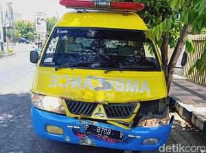 Ambulans yang Tabrak Polisi di Banyuwangi Milik RSI Fatimah