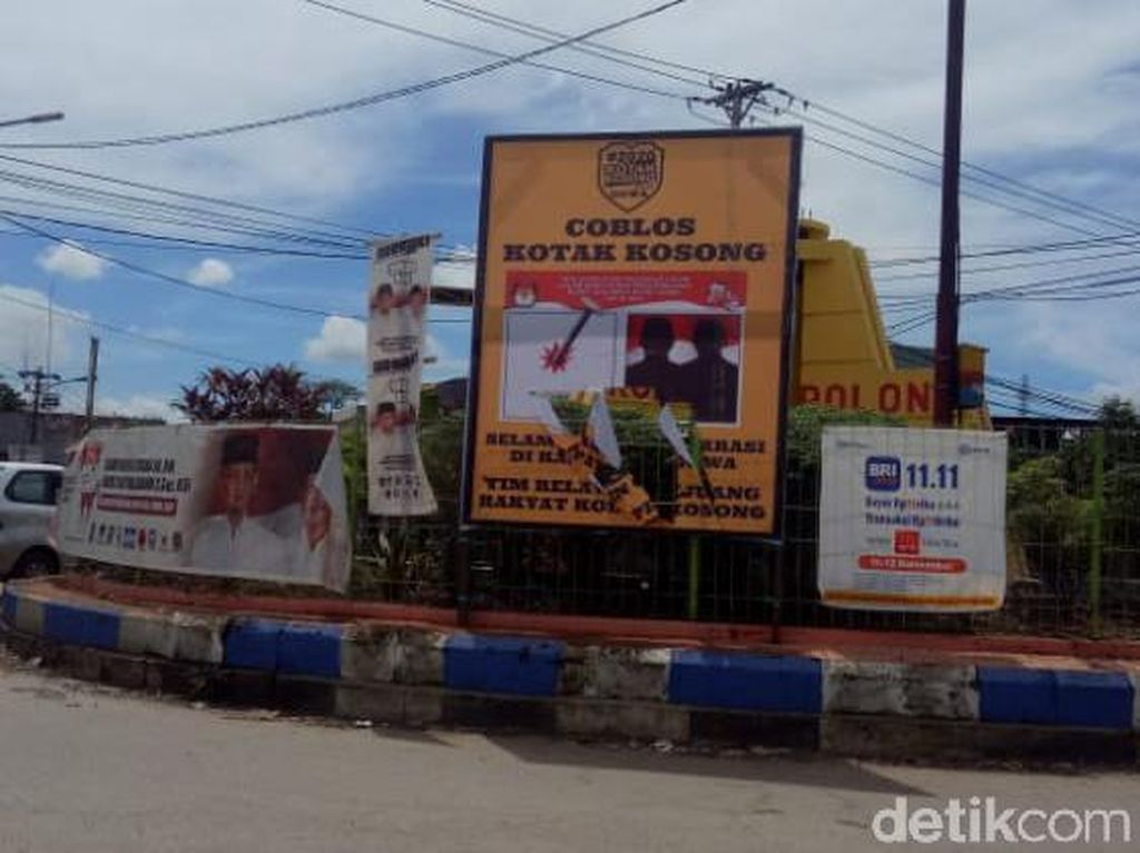 2 Pekan Jelang Pilbup Gowa, Kampanye Kotak Kosong Lawan Adnan-Kio Kian Gencar
