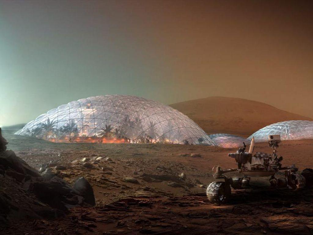 Elon Musk Berhasrat Bikin Negara Demokrasi di Mars