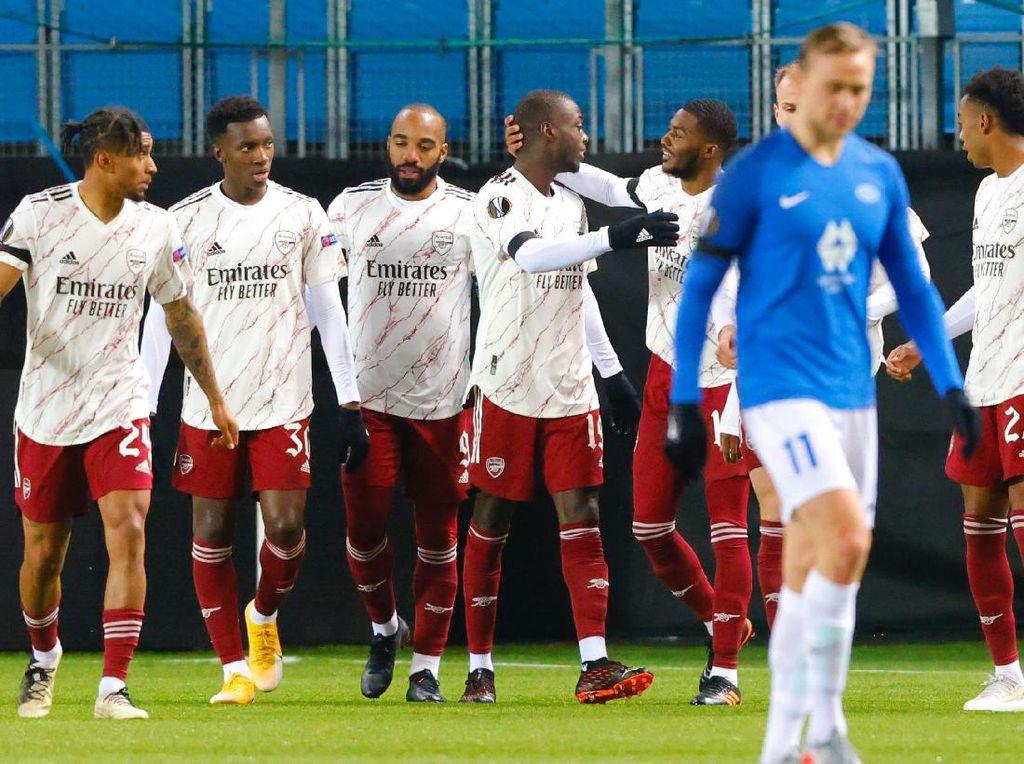 Molde Vs Arsenal: The Gunners ke 32 Besar Usai Menang 3-0