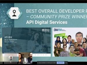 Kalahkan 32 Perusahaan Global, BNI Jadi Pengembang API Portal Terbaik