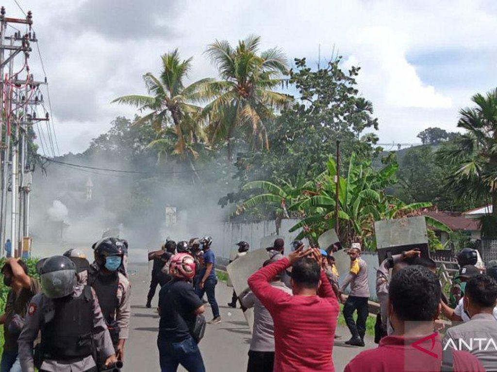 Polisi Amankan 36 Orang Terkait Demo Ricuh di Manokwari-Sorong