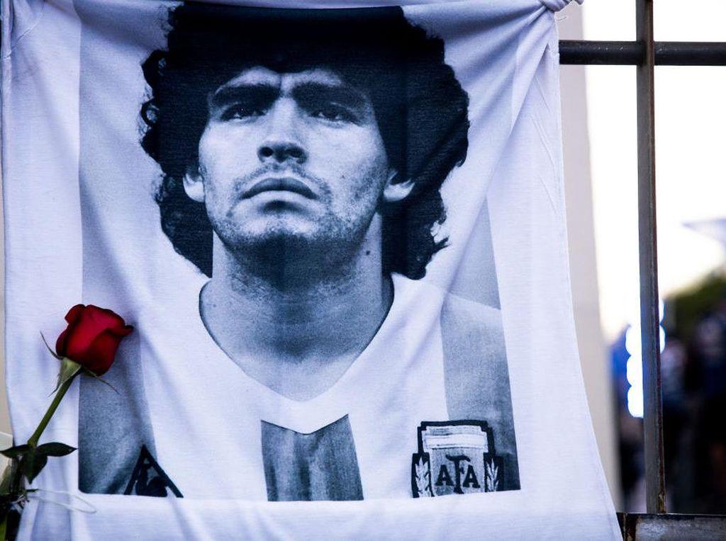 Wacana Abadikan Maradona dan Tangan Tuhan di Uang Argentina