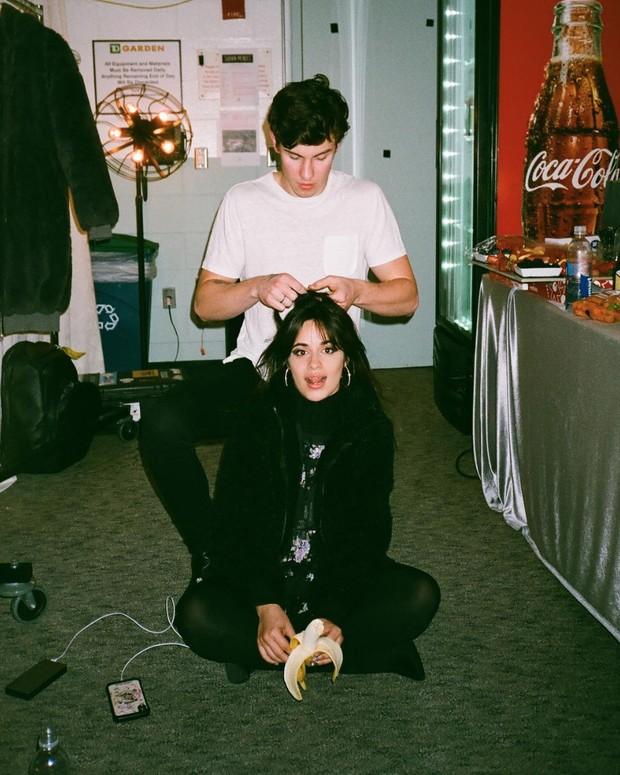 Shawn Mendes dan Camila Cabello.