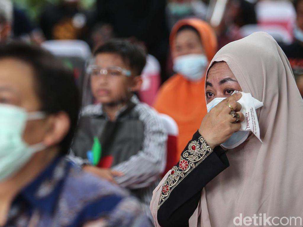 Haru Biru di Peluncuran Buku Bonita Karya Jurnalis detikcom