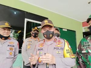 Ke Koramil Cengkareng, Kapolda Metro: Soliditas TNI-Polri Harus sampai Bawah