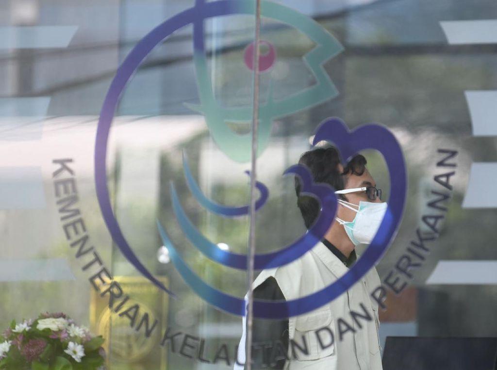 Momen KPK Geledah Kantor Kementerian KKP